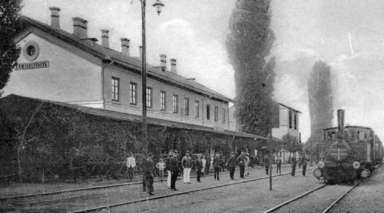 the station around 1910